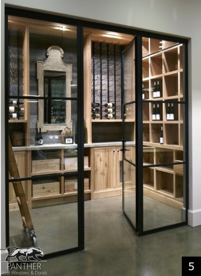 Wine Cellar Panther Steel Windows Amp Doors